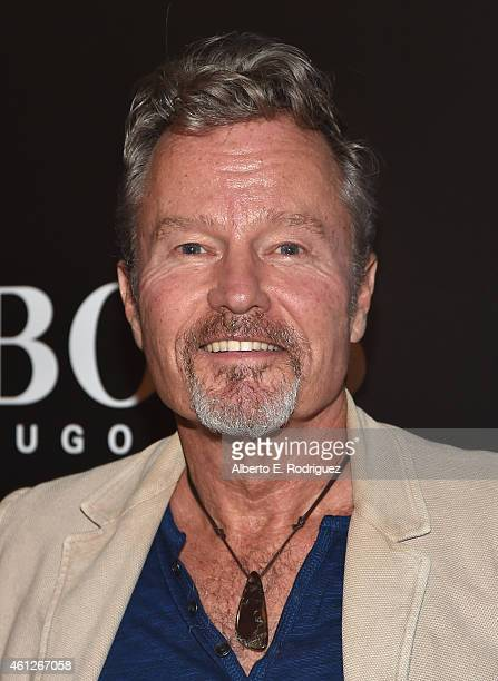 Actor John Savage attends the W Magazine Shooting Stars Exhibit Opening at Wilshire May Company Building on January 9 2015 in Los Angeles California