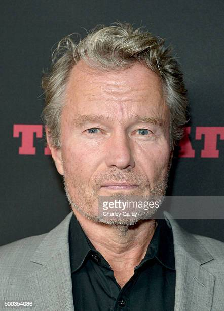 Actor John Savage attends the world premiere of The Hateful Eight presented by The Weinstein Company at ArcLight Cinemas Cinerama Dome on December 7...