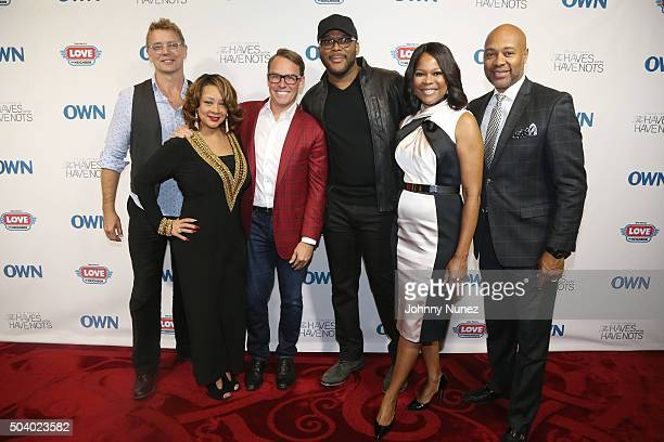 Actor John Schneider actress Kendra C Johnson Erik Logan president of OWN and Harpo Studios director and producer Tyler Perry actress Angela Robinson...