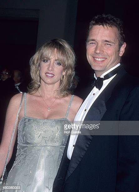 Actor John Schneider and wife Elly Castle attend the 12th Annual Palm Springs International Film Festival on January 13 2001 at the Palm Springs...