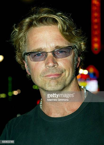 """Actor John Schneider arrives at the Premiere Of """"The Dukes of Hazzard"""" at the Grauman's Chinese Theatre on July 28, 2005 in Hollywood, California."""