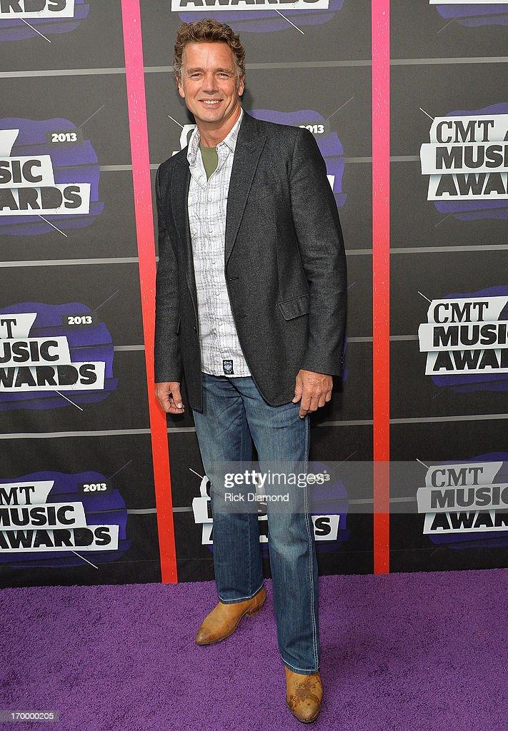 Actor John Schneider Attends The 2013 Cmt Music Awards At