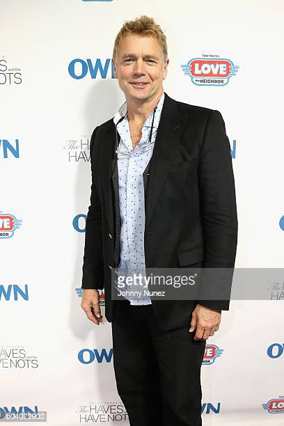 Actor John Schneider attends the OWN Press Lunch with Tyler Perry and the casts of The Haves and the Have Nots and Love Thy Neighbor on January 8...