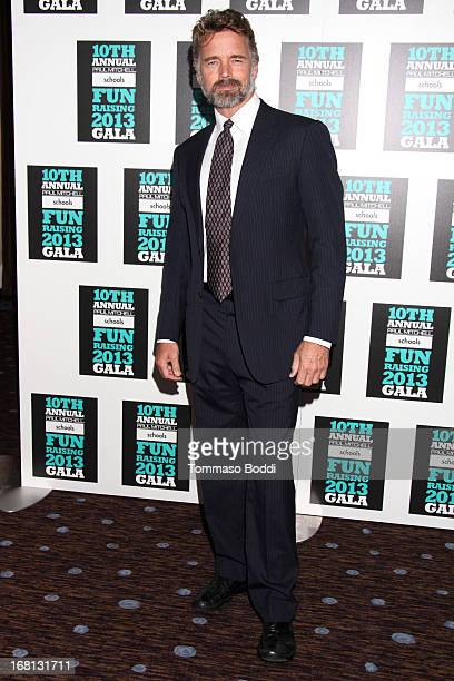 Actor John Schneider attends the Paul Mitchell's 10th Annual Fundraiser held at The Beverly Hilton Hotel on May 5 2013 in Beverly Hills California