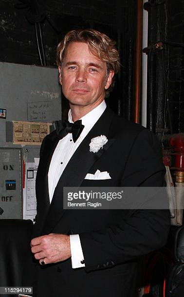 Actor John Schneider poses for a picture during his Broadway debut as Billy Flynn in Chicago at the Ambassador Theatre January 14 2008 in New York...