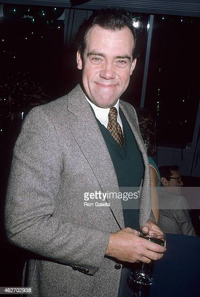 Actor John Schuck on March 17, 1986 dines at Pips Club in Beverly Hills, California.