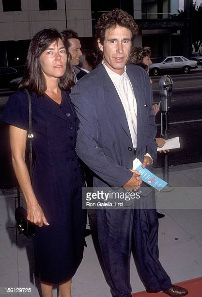 Actor John Shea and wife Laura Pettibone attend 'A League of Their Own' Beverly Hills Premiere on June 22 1992 at Academy Theatre in Beverly Hills...