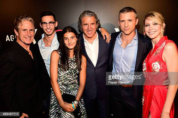 Actor John Shea Augie Bernstein Sadie Bernstein Executive Producer Armyan Bernstein actors Jeff Hephner and Carolyn Stotesbery attend TNT's Agent X...