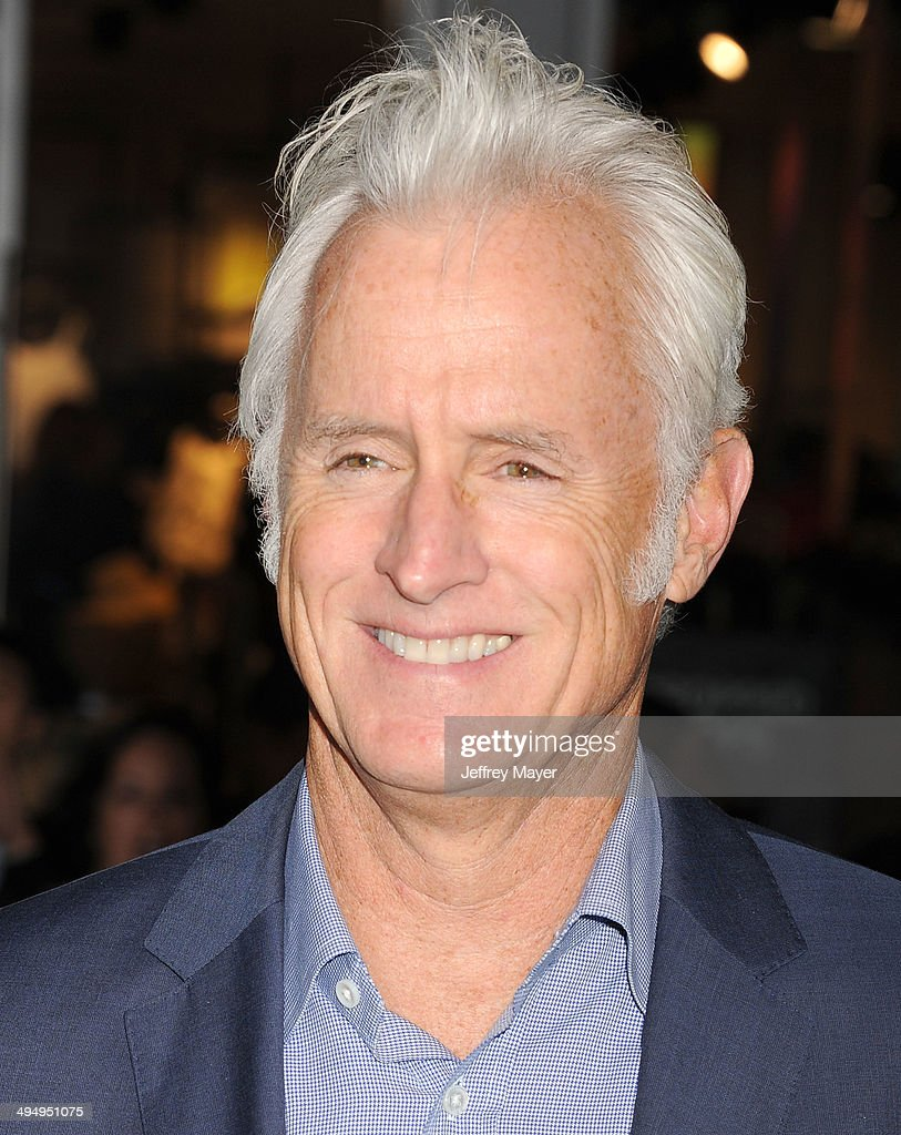 Actor John Slattery arrives at the Los Angeles premiere of 'Million Dollar Arm' at the El Capitan Theatre on May 6, 2014 in Hollywood, California.