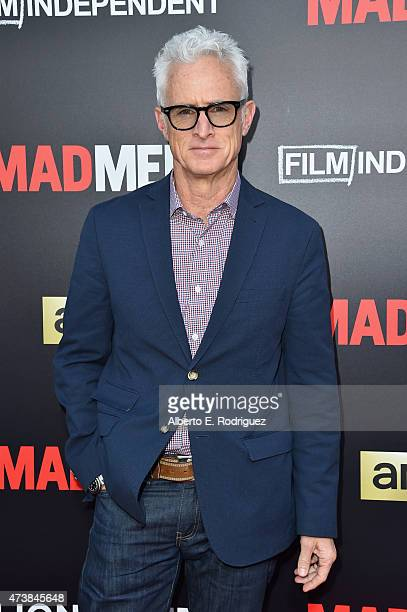 Actor John Slattery attends AMC Film Independent and Lionsgate Present Mad Men Live Read at The Theatre at Ace Hotel Downtown LA on May 17 2015 in...