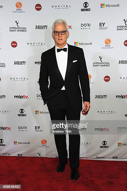 Actor John Slattery attends the 2014 International Academy Of Television Arts Sciences Awards Arrivals at New York Hilton on November 24 2014 in New...