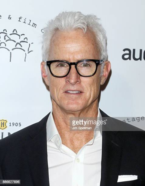 Actor John Slattery attends the 2017 New York Stage and Film Winter Gala at Pier Sixty at Chelsea Piers on December 5 2017 in New York City