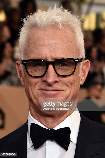 Actor John Slattery attends the 22nd Annual Screen Actors Guild Awards at The Shrine Auditorium on January 30 2016 in Los Angeles California