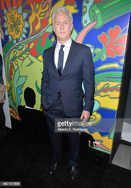 Actor John Slattery attends the AMC celebration of the 'Mad Men' season 7 premiere at ArcLight Cinemas on April 2 2014 in Hollywood California