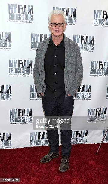 Actor John Slattery attends the New York Film Critics Series preview screening of Bluebird at AMC Empire on February 16 2015 in New York City