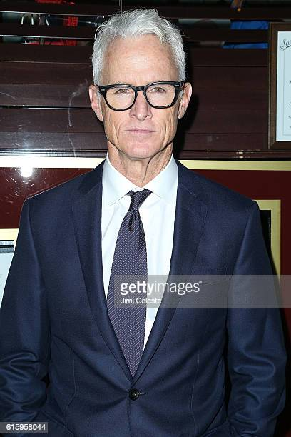 Actor John Slattery attends the Opening of Broadway's AllStar The Front Page at the Broadhurst Theatre on October 20 2016 in New York City