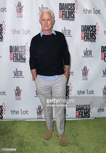 """Actor John Slattery attends the premiere of """"The Aftermath"""" at TCL Chinese 6 Theatres on May 31, 2015 in Hollywood, California."""