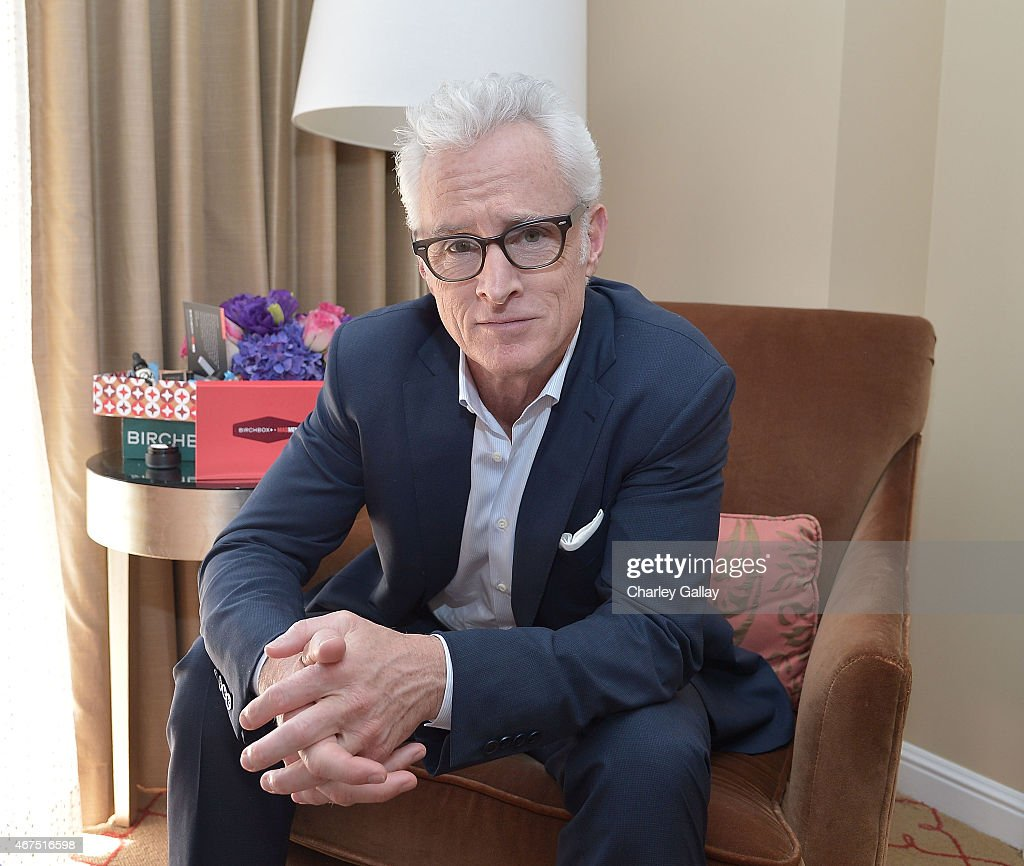 Christina Hendricks And John Slattery Celebrate The Launch Of The Mad Men-Inspired Birchbox At The Four Seasons