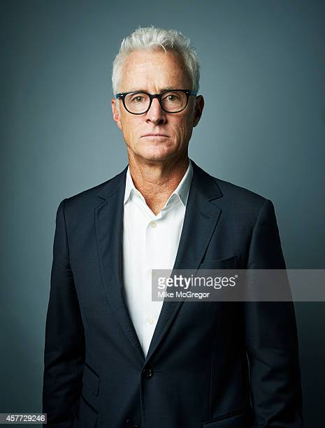 Actor John Slattery is photographed for Self Assignment on September 11 2014 in New York City