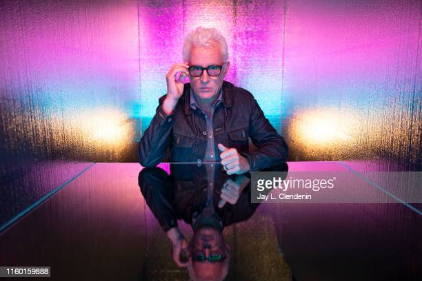 Actor John Slattery of 'Next' is photographed for Los Angeles Times at ComicCon International on July 19 2019 in San Diego California PUBLISHED IMAGE...