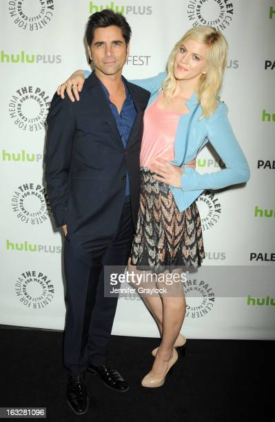 Actor John Stamos and Actress Georgia King attends the 30th Annual PaleyFest The William S Paley Television Festival Honors The New Normal held at...