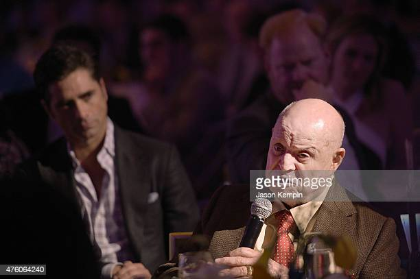 Actor John Stamos and comedian Don Rickles attend the 'Cool Comedy Hot Cuisine' To Benefit The Scleroderma Research Foundation benefit at the Beverly...
