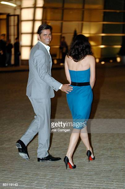 Actor John Stamos and guest attend Howard Stern's and Beth Ostrosky 's wedding at Le Cirque on October 3 2008 in New York City