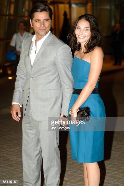 Actor John Stamos and guest attend Howard Stern's and Beth Ostrosky 's wedding at Le Cirque on October 3, 2008 in New York City.