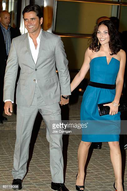 Actor John Stamos and guest attend the Howard Stern's and Beth Ostrosky at Le Cirque on October 3 2008 in New York City