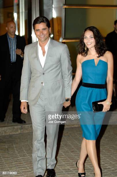 Actor John Stamos and guest attend the Howard Stern's and Beth Ostrosky at Le Cirque on October 3, 2008 in New York City.