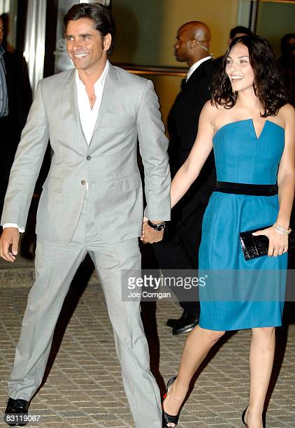 Actor John Stamos and guest attend the Howard Stern's and Beth Ostrosky 's wedding at Le Cirque on October 3 2008 in New York City