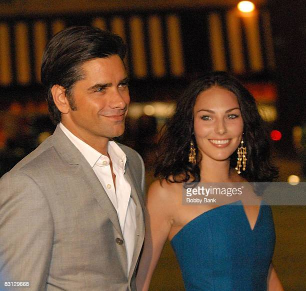 Actor John Stamos and guest attend the wedding of Howard Stern and Beth Ostrosky at Le Cirque on October 3 2008 in New York City