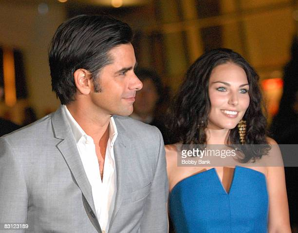 Actor John Stamos and guest attends the wedding of Howard Stern and Beth Ostrosky at Le Cirque on October 3 2008 in New York City