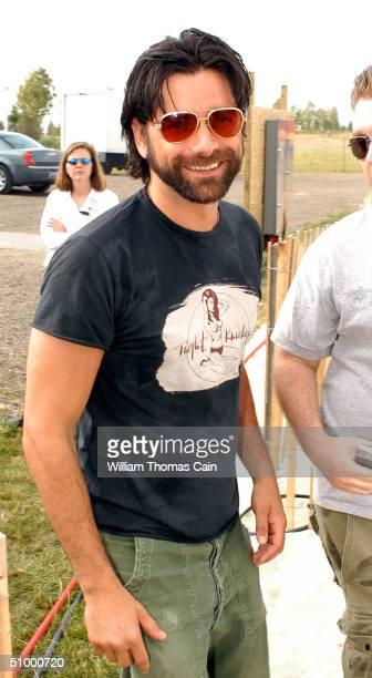"Actor John Stamos arrives at the Maxim Magazine Presents ""Fantasy Island"" at the Borgata Hotel Casino and Spa June 26, 2004 in Atlantic City, New..."