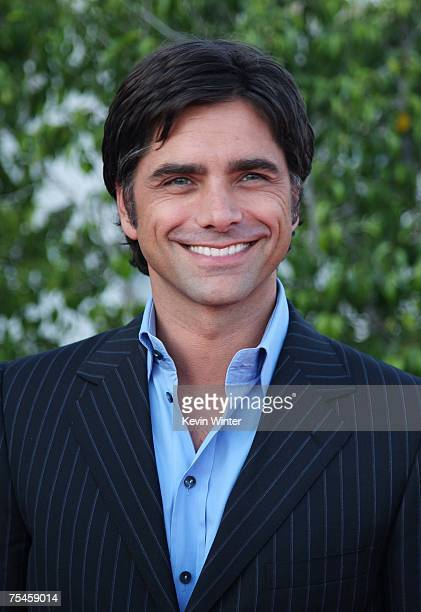 Actor John Stamos arrives to the NBC AllStar Party held during the 2007 Summer Television Critics Association Press Tour at the Beverly Hilton hotel...