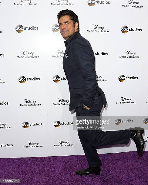 Actor John Stamos attends Disney Media Disribution International Upfronts at Walt Disney Studios on May 17 2015 in Burbank California