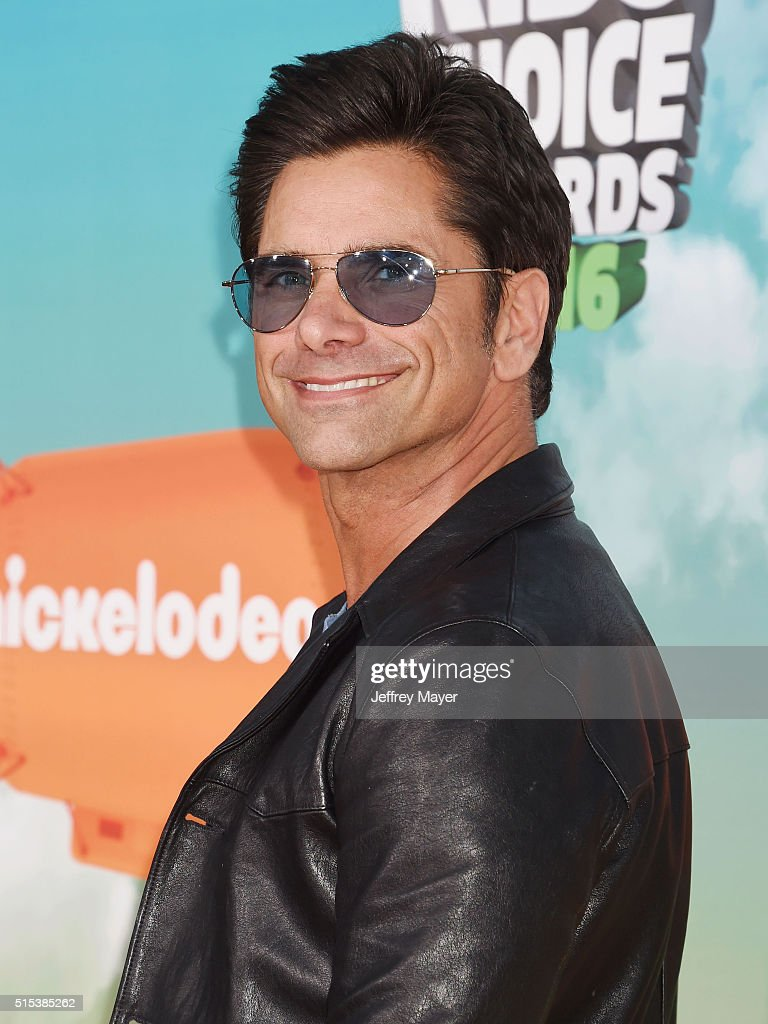 Actor John Stamos attends Nickelodeon's 2016 Kids' Choice Awards at The Forum on March 12, 2016 in Inglewood, California.