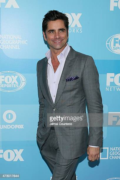Actor John Stamos attends the 2015 FOX programming presentation at Wollman Rink in Central Park on May 11 2015 in New York City