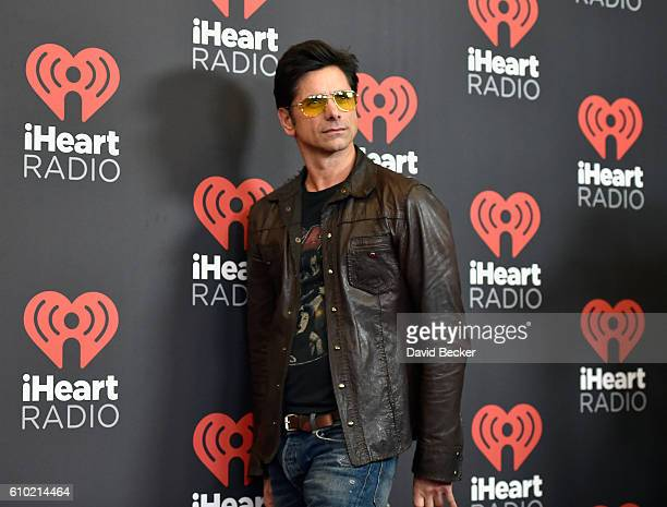 Actor John Stamos attends the 2016 iHeartRadio Music Festival at TMobile Arena on September 24 2016 in Las Vegas Nevada
