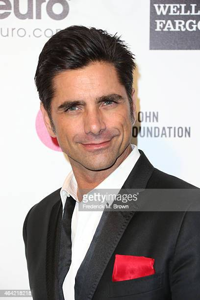 Actor John Stamos attends the 23rd Annual Elton John AIDS Foundation's Oscar Viewing Party on February 22 2015 in West Hollywood California