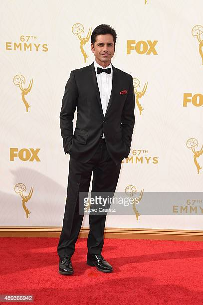 Actor John Stamos attends the 67th Annual Primetime Emmy Awards at Microsoft Theater on September 20 2015 in Los Angeles California