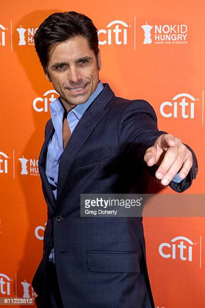 Actor John Stamos attends the Los Angeles' No Kid Hungry Dinner at a private residence on September 28 2016 in Los Angeles California