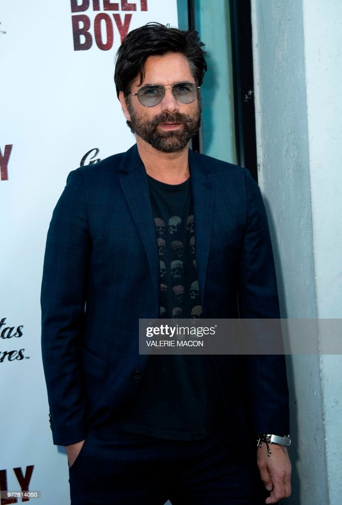 Actor John Stamos attends the Los Angeles Premiere of Billy Boy, at the Laemmle Music Hall on June 12, 2018, in Beverly Hills, California.