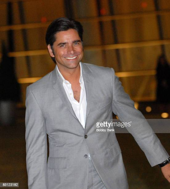 Actor John Stamos attends the wedding of Howard Stern and Beth Ostrosky at Le Cirque on October 3 2008 in New York City
