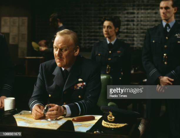 Actor John Thaw in a scene from the BBC television drama 'Bomber Harris' February 21st 1989