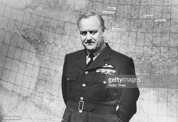 Actor John Thaw wearing a pilots uniform in a scene from the television drama 'Bomber Harris' September 1989
