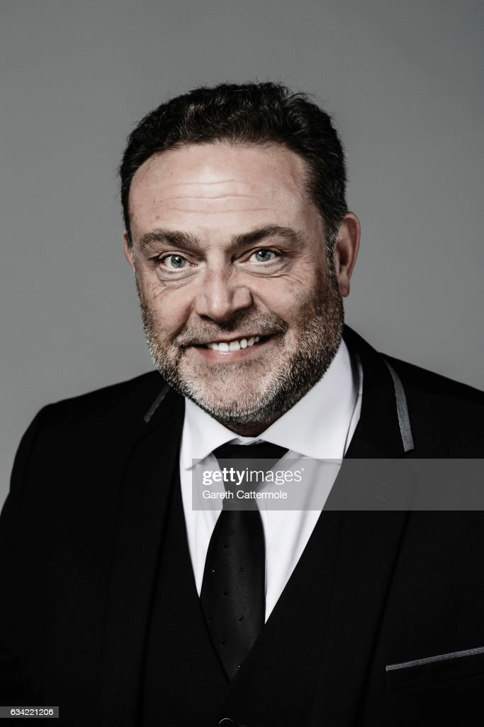 Actor John Thomson is photographed at the National Television Awards on January 25, 2017 in London, England.