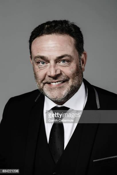 Actor John Thomson is photographed at the National Television Awards on January 25 2017 in London England