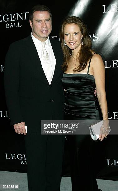 Actor John Travolta and actress Kelly Preston attend Oprah Winfrey's Legends Ball at the Bacara Resort and Spa on May 14 2005 in Santa Barbara...