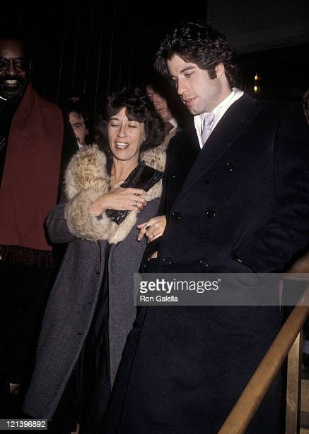 Actor John Travolta and sister actress Ellen Travolta attend Grease 2000th Broadway Performance and After Party on December 8 1979 at the Royale...